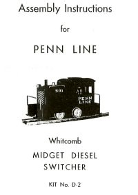 Penn Line D-2 Switcher Instructions